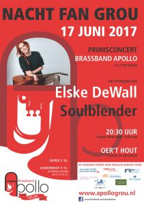 Nacht fan Grou/Proms-concert op 17 juni