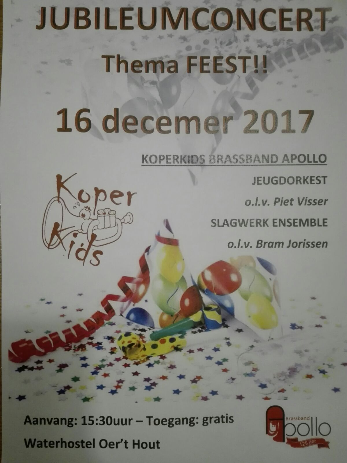 Jubileumconcert KoperKids